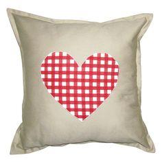 GREY GARDENS   Checked Heart Scatter Cushion #pillow #cushion #homedecor Scatter Cushions, Throw Pillows, Grey Gardens, Cushion Pillow, Art Ideas, Heart, Amazing, Home Decor, Toss Pillows