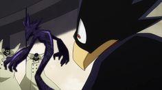 Ectoplasm vs Fumikage Tokoyami and Dark Shadow    Boku no Hero Academia