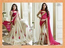 Designer indian pakistani bollywood elegant party mariage saree sari