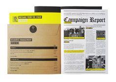 Creative annual report for Amnesty International Hong Kong 2010 - by TGIF, Hong Kong