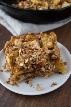 Persimmon and Pear Oatmeal Breakfast Bake-7