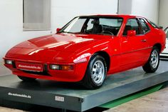 1977 Porsche 924. I had a all black with tinted windows and chrome wheels and lowered :)