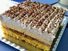 Slávnostné jablkové zákusky: Trinásť chutných receptov, ktoré si obľúbite Strudel, Pavlova, Tiramisu, Cheesecake, Food And Drink, Dessert Recipes, Cooking Recipes, Sweets, Apple