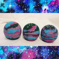 Galaxy Bath Bombs by dreamdropbathbombs on Etsy