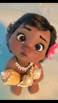 Baby Moana, the cutest ❤