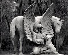 Pet Cemetery Angel by TheArtOfSadness.deviantart.com