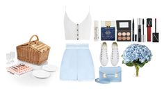 """picnic date"" by abbyreichart ❤ liked on Polyvore featuring Zimmermann, Sophie Hulme, Kate Spade, John Masters Organics, Stila, Converse, OKA, Christian Dior, NARS Cosmetics and Picnic Time"
