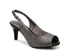 Bridesmaids shoes?  LifeStride Teller Glitter Pump