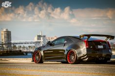 2013 D3 Cadillac Widebody CTS-V Coupe for BTX Air