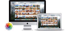 Einfügen von Mediatheken in Mac Foto App
