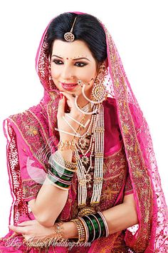 VLCC Collection, Designs, Fashion Shows, Makeup & Hairstyles, Pictures and Photos on Bigindianwedding Indian Bridal Outfits, Indian Bridal Wear, Pakistani Bridal, Bridal Dresses, Indian Wear, Rajasthani Bride, Indian Look, Indian Style, Indian Fashion Trends
