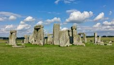 Stonehenge in Wiltshire, 5000 year old stones dragged from Wales and created a circle of stones for everyone to see..