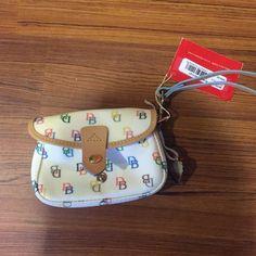 Dooney & Bourke wrist wallet Never used wrist wallet! Super cute Dooney & Bourke Bags Wallets