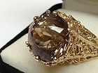 Incredible Custom James Avery 14K Yellow Gold Ring with 7 1/2 carat Smokey Topaz - Avery, carat, Custom, Gold, Incredible, James, Ring, Smokey, Topaz, Yellow - http://designerjewelrygalleria.com/designer-jewelry-galleria/incredible-custom-james-avery-14k-yellow-gold-ring-with-7-12-carat-smokey-topaz/