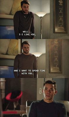Please Oliver, give him a chance, he'll be good. #coliver #htgawm - From my Tumblr htgawm-keatingfive