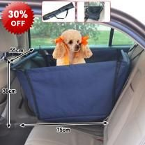 75cm Length Pet Dog Cat Car Seat Cover Hammock - Rip Resistant - Fits Most Cars - Easy To Clean