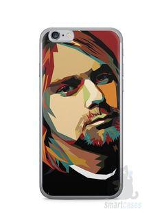 Capa Iphone 6/S Kurt Cobain - SmartCases - Acessórios para celulares e tablets :)