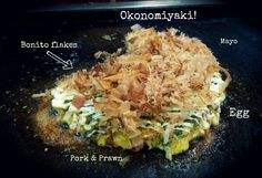 Okonomiyaki Ingredients...Hiroshima style