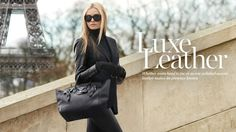 Luxe Leather. First pin of the fall season of 13. Ralph Lauren Luxe Leather. Beautiful.