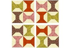 Use this easy Bento Box quilt block pattern to sew unique quilt blocks that finish at 12-inches square. A beginner friendly quilt block pattern.