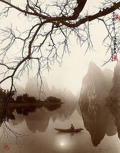 Exquisite Landscape Photographs ~ By Photographer Don Hong-Oai Zen Painting, Chinese Painting, Pintura Zen, Asian Landscape, Raindrops And Roses, Art Asiatique, Art Japonais, China Art, China China