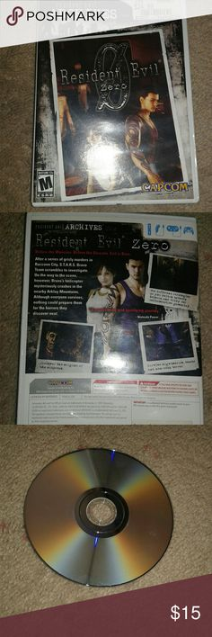 Resident Evil Zero Wii Game Mint condition  Wii Game Resident evil Resident evil 0 archives Wii Other