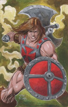 He-Man Painting.