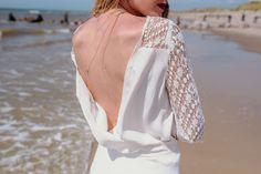 Body et short AGLAE  #mariage #mariée #robe #Robedemariée #weddingdress #wedding #bride #bridetobe #lace #dentelle #plage #faitmain #artisanat #madeinfrance