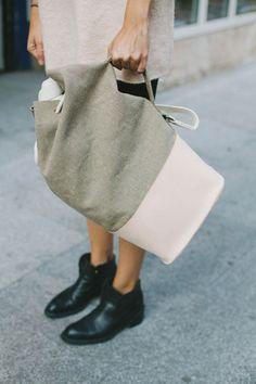 Officer Bag Raw Natural on We Heart It Look Fashion, Fashion Bags, Diy Sac, Mk Handbags, Mk Bags, Clutch, Backpack Bags, Duffle Bags, Messenger Bags