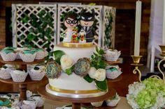 Las suculentas son perfectas para matrimonios vintage o rústicos