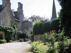 In the Village of Mickleton in the Cotswolds  by UGArdener, via Flickr