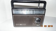 Vintage Vtg General Electric GE Two-Way Power FM/AM Portable Radio Model 7-2825A by AltmodischVintage on Etsy