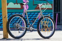 I can't help it. I love touring bikes with big, fat, high volume tires and funky stances. This project in particular was born from the mind and abilities of three important individuals, residing in th...