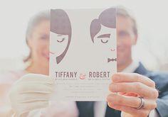 Misturar o tridimensional com a ilustração, foi a ótima ideia desse casal!