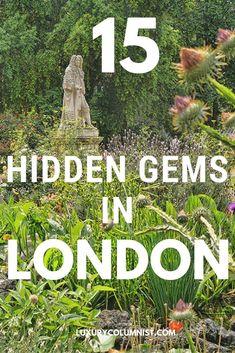 15 Hidden Gems in London