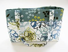 Women's tote bag fall bag autumn tote fabric tote by LizzyBethLane, $32.00