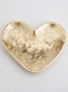 KELLY WEARSTLER | HEART DISH. Playful burnished bronze catch all