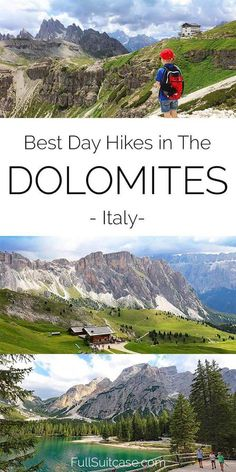 The Italian Dolomites is a dream destination for mountain lovers. But with thousands of kilometers of hiking trails, each more beautiful than the other. Here are some amazing hikes you shouldn't miss in the Italian Dolomites. Italy Travel Tips, Travel And Tourism, Nightlife Travel, Budget Travel, Italy Tourism, Hiking Guide, Hiking Trails, Hiking Europe, Reisen In Europa