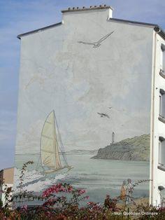 L'art urbain à Brest, entre graffitis et poésie #myfinistere #bretagne #vacances #finistere