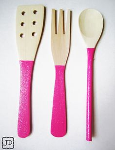 I should do all my utensils like this...