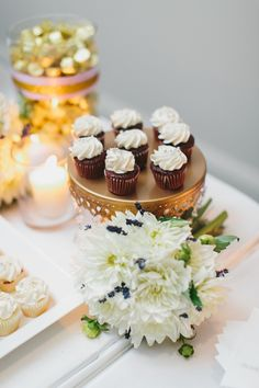 Wedding Reception at #Arcadian Court #Wedding #Toronto #TorontoWedding #WeddingDetails #SweetsTable | Photo: @mangostudios