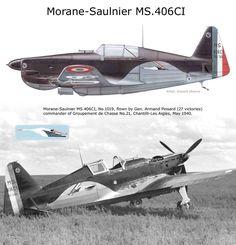 Morane Saulnier MS.406C1