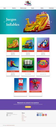 Divertica es una empresa dedica al alquiler de juegos inflables y snack para fiestas infantiles, Cumpleaños, Kermesses y todo tipo de eventos.
