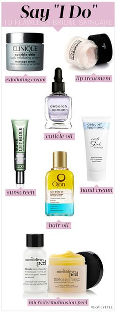 Tips for Tying The Knot with the Perfect Bridal Skincare Routine