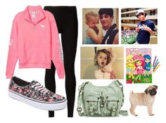 """""""REQUEST SET: Babysitting Skylynn with Hayes"""" by kennagracee ❤ liked on Polyvore featuring Rick Owens Lilies, Mossimo Supply Co., Victoria's Secret PINK and Vans"""