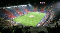 Camp nou Camp Nou is the largest football stadium in Europe and home to FC Barcelona. It has a capacity of seats. Camp Nou was buil. Camp Nou Barcelona, Fc Barcelona, Weekend Barcelona, Barcelona Soccer, Camp Nou Stadium, Soccer Stadium, Football Stadiums, Fifa Football, Cristiano Vs Messi