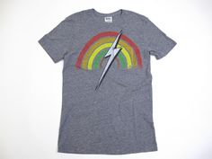 Lightning Bolt - Rainbow Tee    $36.00