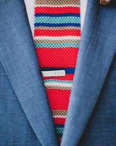 """See the """"Natty Neckwear"""" in our Groom Ideas from Real Weddings gallery"""