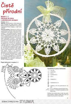 Patterns and motifs: Crocheted motif no. 718 Patterns and motifs: Crocheted motif no. Mandala Au Crochet, Crochet Motifs, Crochet Chart, Thread Crochet, Filet Crochet, Irish Crochet, Crochet Doilies, Crochet Round, Crochet Home