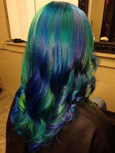 Airacha's dreamy ocean hair